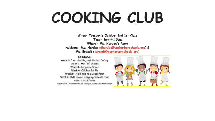 Cooking Club