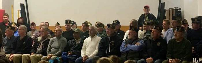 Veterans Honored at Morning Program