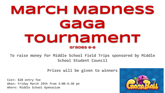 MS GAGA tournament