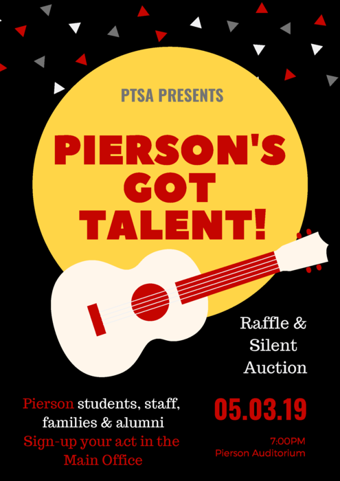 Pierson's Got Talent