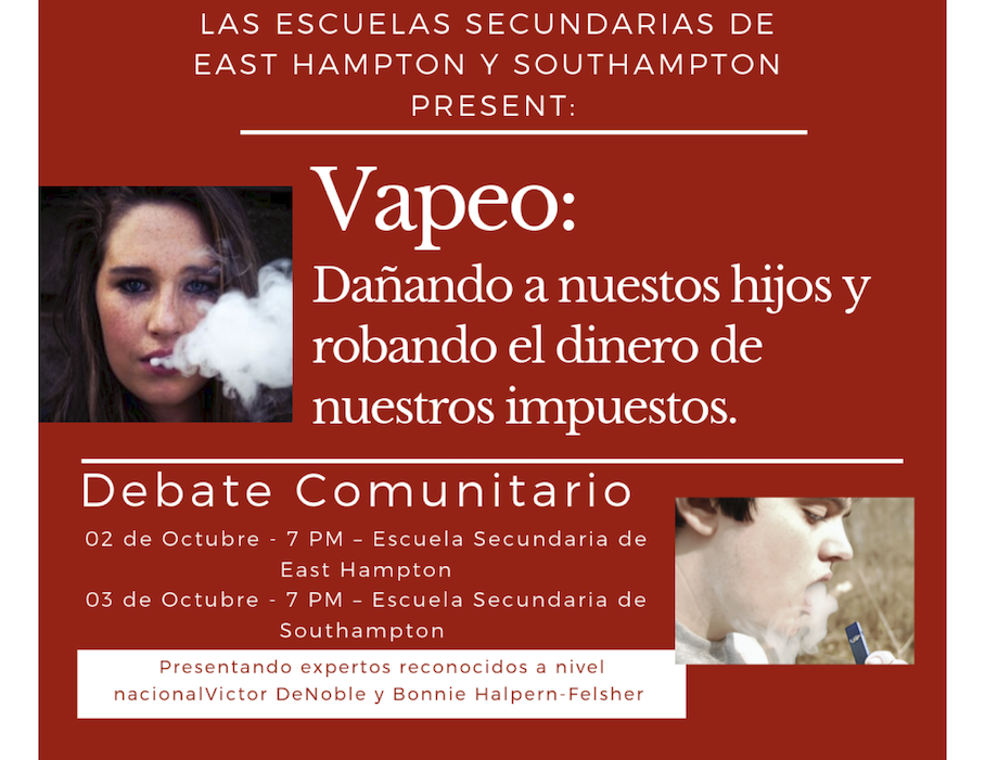 Vaping Community Town Halls - Spanish